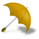 download Umbrella Red clipart image with 45 hue color