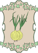 Garden Sign Onion