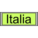 Digital Display With Italia Text