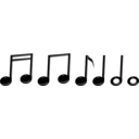 Music Notes Notas Musicales