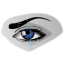 download Eye Scan clipart image with 135 hue color