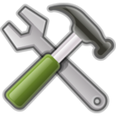 download Tools Hammer Spanner clipart image with 225 hue color