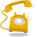 download Red Telephon clipart image with 45 hue color