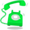 download Red Telephon clipart image with 135 hue color
