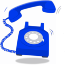 download Red Telephon clipart image with 225 hue color