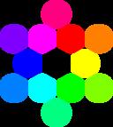13 Circles Rainbow