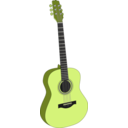 download Guitar 1 clipart image with 45 hue color