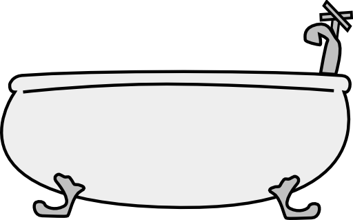 bathtub 2 clipart  i2clipart  royalty free public domain
