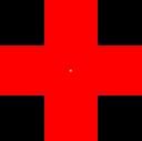 Red Pyramids Illusion