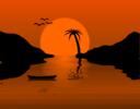 Sunset Waterscene