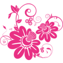 download Floral 1 clipart image with 315 hue color