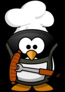 Grilling Penguin