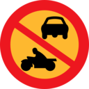 No Motorbikes Or Cars