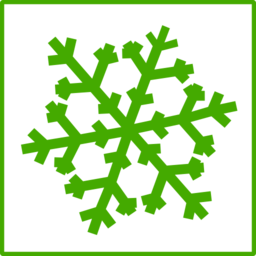 Eco Green Snow Icon Clipart I2clipart Royalty Free Public Domain Clipart