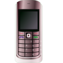download Cell Phone clipart image with 135 hue color