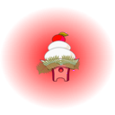 download Kagami Mochi clipart image with 315 hue color