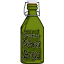 download Clamp Bottle Beer clipart image with 45 hue color