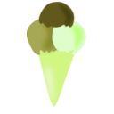 download Vanilla Ice Cream clipart image with 45 hue color