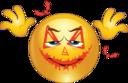 Zombie Smiley Emoticon