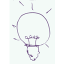 download Bulb Idea clipart image with 45 hue color