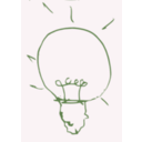 download Bulb Idea clipart image with 225 hue color
