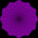 Weaving Iris Mandala