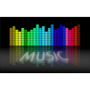 download Music Equalizer 5 clipart image with 135 hue color