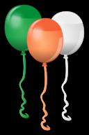 St Patricks Balloons
