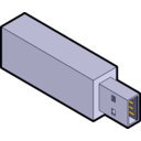 Isometric Usb Stick