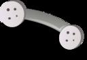 Phone Handset Grey