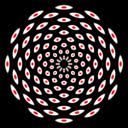 108 Eyes Mandala