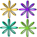 download Bows Ribbons clipart image with 45 hue color