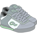download Shoes clipart image with 135 hue color