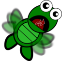 Turtle Flapping