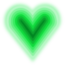 download Heart With Deep clipart image with 135 hue color