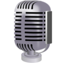 download Old Style Microphone clipart image with 45 hue color