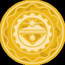 Pretty Coin Golden