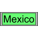 download Digital Display With Mexico Text clipart image with 45 hue color