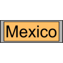 download Digital Display With Mexico Text clipart image with 315 hue color