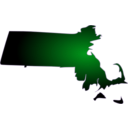 download Massachusetts clipart image with 270 hue color