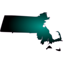 download Massachusetts clipart image with 315 hue color