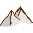 Rpg Map Symbols Mountains