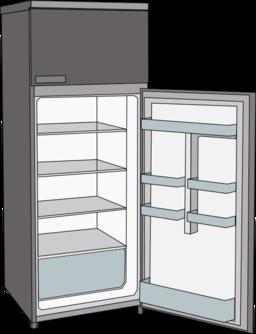 frigorifero refrigerator clipart i2clipart royalty free public domain clipart. Black Bedroom Furniture Sets. Home Design Ideas