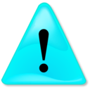 download Warning Notification clipart image with 135 hue color