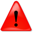 download Warning Notification clipart image with 315 hue color