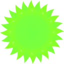 download Sun clipart image with 45 hue color