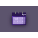 download Blue Ui Calendar clipart image with 45 hue color