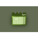 download Blue Ui Calendar clipart image with 225 hue color