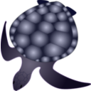 download Turtle clipart image with 225 hue color