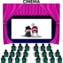 download Cinema clipart image with 315 hue color